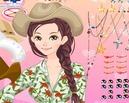 Make-up-spiel-cowgirl