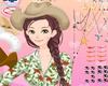 Makeup-game-of-cowgirl