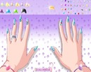 Manicure-set-of-glittering