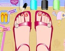 Pedicure-set-pada-pantai