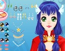 Manga-stijl-make-up-spel