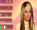 Makeup-spel-av-paris-hilton